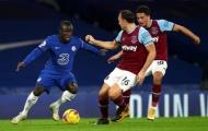 Chelsea bị phân tâm trước 'đại chiến' với West Ham