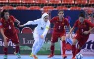 Thua đậm ĐKVĐ Iran, ĐT Futsal nữ Việt Nam dừng bước ở bán kết