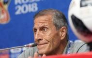 HLV Tabarez: 'Cần cả đội Uruguay mới có thể ngăn Ronaldo tỏa sáng'