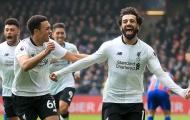 Mohamed Salah ghi bàn thứ 29, Liverpool ngược dòng kịch tính trước Palace
