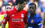 Evra không cần lời xin lỗi của Suarez