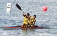 VĐV Myanmar bị lật thuyền vì vội mừng Huy chương vàng