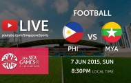 Trực tiếp bóng đá SEA Games 28: U23 Philippines vs U23 Myanmar