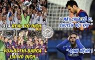 Ảnh chế: Khi Champions League lẩn tránh Cesc Fabregas