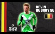 Kevin de Bruyne và màn trình diễn cực hay mùa 2014/15