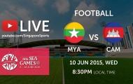 Trực tiếp bóng đá SEA Games 28: U23 Myanmar vs U23 Campuchia