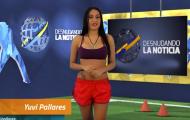 """Bản tin """"thoát y"""" lại gây sốc mùa Copa America"""