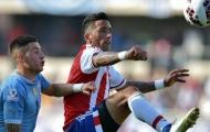 Hòa 1-1, Uruguay cùng dắt tay Paraguay vào tứ kết