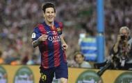 """Pha bóng cho thấy Messi có """"mắt"""" sau lưng"""