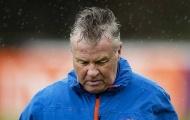 NÓNG: Guus Hiddink từ chức HLV tuyển Hà Lan