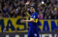 Số 10 tài hoa của Argentina hối hận vì từ chối Manchester United