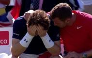Sao thể thao Anh nô nức đến sân cổ vũ Murray
