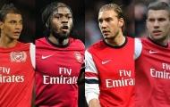 Những tiền đạo thất bại tại Arsenal trong một thập kỷ qua