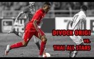Màn trình diễn của Divock Origi (Liverpool) vs Thailand