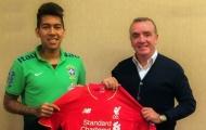 Liverpool công bố số áo các tân binh