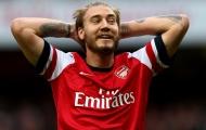 Sao Arsenal nhận 'Thánh' Bendtner là… huyền thoại
