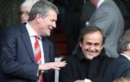 FA công khai ủng hộ Platini thành chủ tịch FIFA