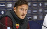 Roma phải vô địch để tri ân Francesco Totti