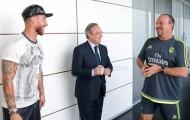 """Benitez ngủ ngon với """"tân binh"""" Sergio Ramos"""