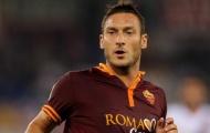 Francesco Totti – Số 10 vĩ đại của AS Roma