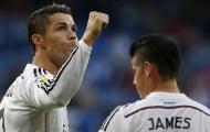 Ronaldo và niềm hạnh phúc đương nhiên ở Real