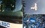 Sốc: Xe buýt của Hertha Berlin bị xả súng