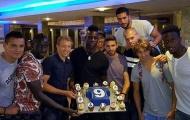 Sao Liverpool ùn ùn kéo đến dự sinh nhật Balotelli