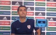 HLV Ernesto Valverde: Thật khó để có thể ngăn cản Messi