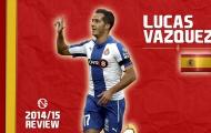 Lucas Vázquez, ngôi sao đang lên của bóng đá Tây Ban Nha