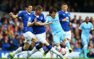 Những pha bóng nghệ sĩ của David Silva trong trận gặp Everton