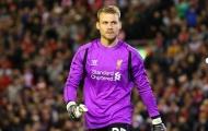 Thủ thành Simon Mignolet tiết lộ lí do từ chối mặc áo số 1 ở Liverpool