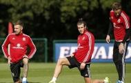Ramsey, Gareth Bale rạng ngời tập trung cùng tuyển xứ Wales