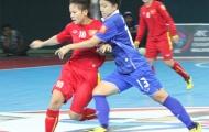 Futsal Nữ Việt Nam bị loại khỏi VCK châu Á
