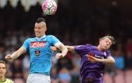 """Vòng 8 Serie A: Napoli tiếp tục tạo """"địa chấn"""""""