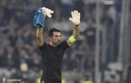 Vượt mặt huyền thoại Del Piero, lão tướng Buffon vẫn không vui