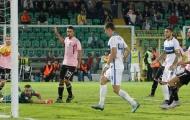 Ghi bàn trước, Inter vẫn bị chia điểm đáng tiếc