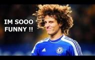 Không thể nhịn được cười với David Luiz