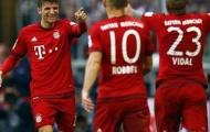 Sau vòng 13 Bundesliga: Bayern cho Dortmund 'hít khói'