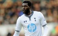 Không ra sân, Adebayor vẫn đút túi 175.000 bảng/tuần
