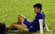 U23 Việt Nam: Thêm Đông Triều, Văn Toàn nghỉ tập vì chấn thương