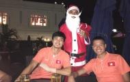 Công Phượng tụ tập cùng đồng đội đón Giáng sinh