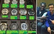 Hết khoe siêu xe, Adebayor lại 'gây bão' với BST đồng hồ