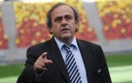 Platini CHÍNH THỨC từ bỏ cuộc đua Chủ tịch FIFA