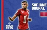 Sofiane Boufal – xứng danh Eden Hazard mới