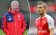 "Arsenal chốt tương lai ""bệnh binh"" Jack Wilshere"