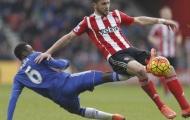 Baba Rahman bị châm biếm khi 'kiến tạo' cho Southampton ghi bàn