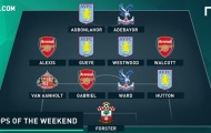 Arsenal chiếm 3 vị trí trong đội hình tệ nhất vòng 27 Premier League