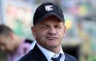 Palermo thay HLV 7 lần trong một mùa giải