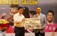 CLB Sài Gòn tặng quà đặc biệt cho Liên đoàn bóng đá TP.HCM