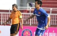 Bị cấm thi đấu ở V-League, Văn Quyết tỏa sáng trên sân Thống Nhất